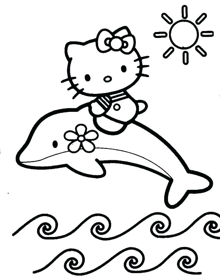 736x930 Free Printable Hello Kitty Coloring Pages For Pages Coloring Page