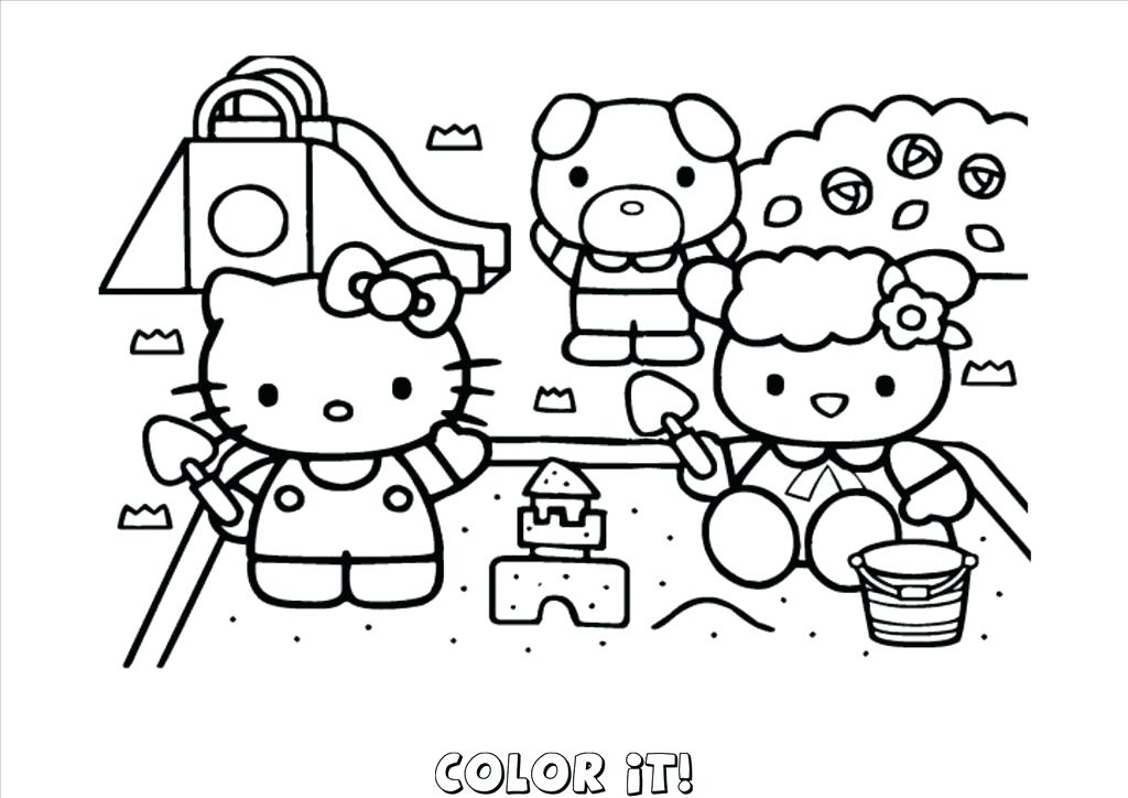 1024x724 Hello Kitty Free Coloring Pages Top Hello Kitty Free Coloring