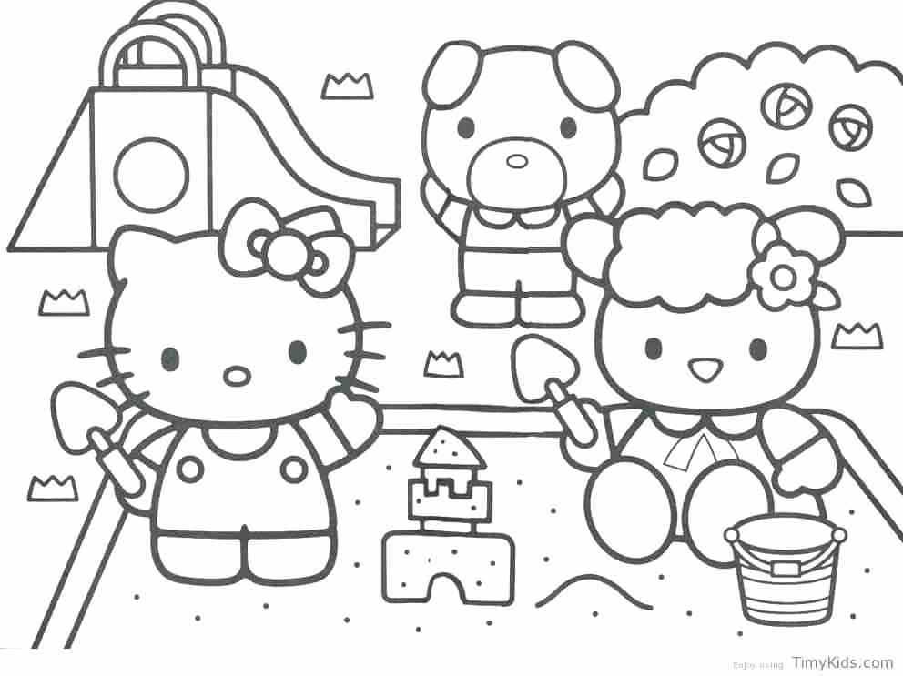 992x743 Kitty Coloring Pages Hello Kitty Coloring Pages Free Hello Kitty