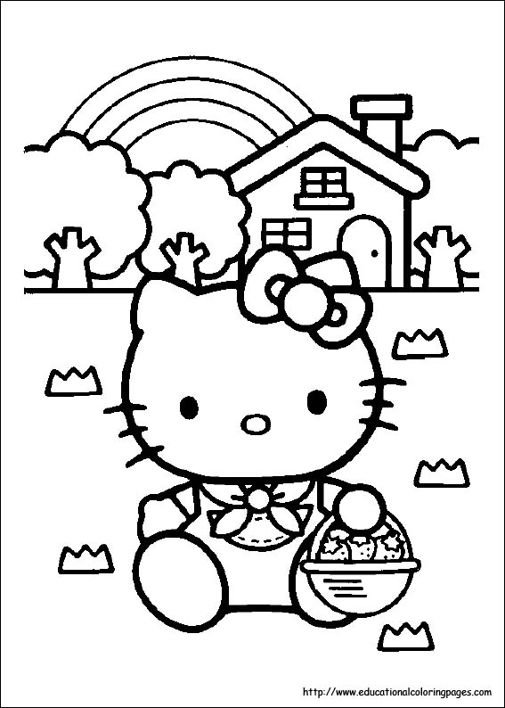 Hello Kitty Coloring Pages To Print Out At Getdrawings Free Download