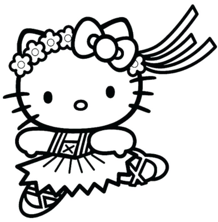 696x708 Kitties Coloring Pages Hello Kitty Coloring Pages For Kids