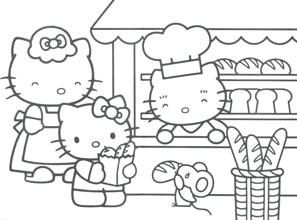 957x708 Top Free Printable Hello Kitty Coloring Pages Online Hello Kitty