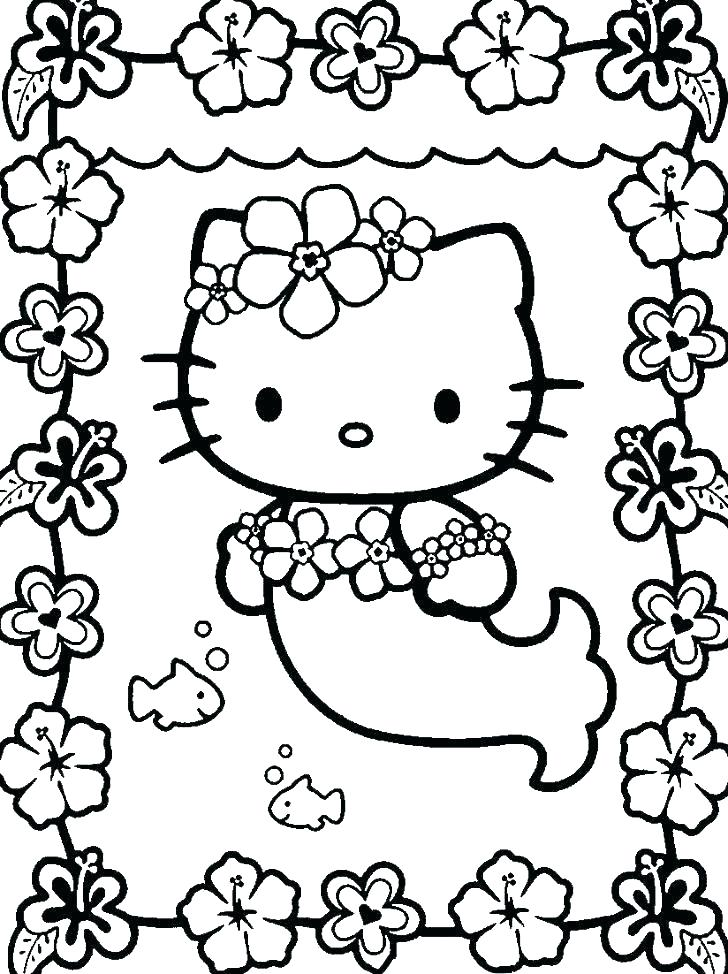 728x974 Coloring Pages Of Hello Kitty Hello Kitty Face Coloring Pages Free