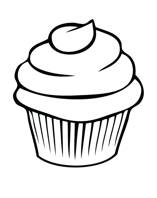 picture about Printable Cupcakes titled Hi there Kitty Cupcake Coloring Internet pages at  Absolutely free