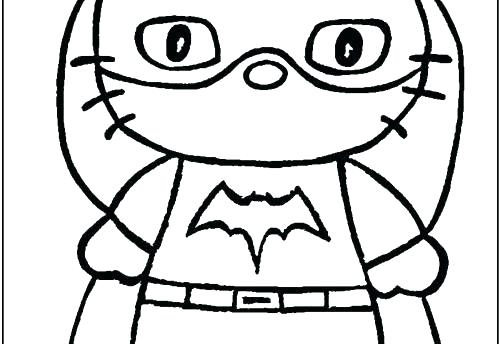 500x344 Hello Kitty Halloween Coloring Pages