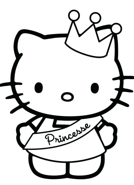 518x715 Hello Kitty Coloring Pages That You Can Print Top Hello Kitty
