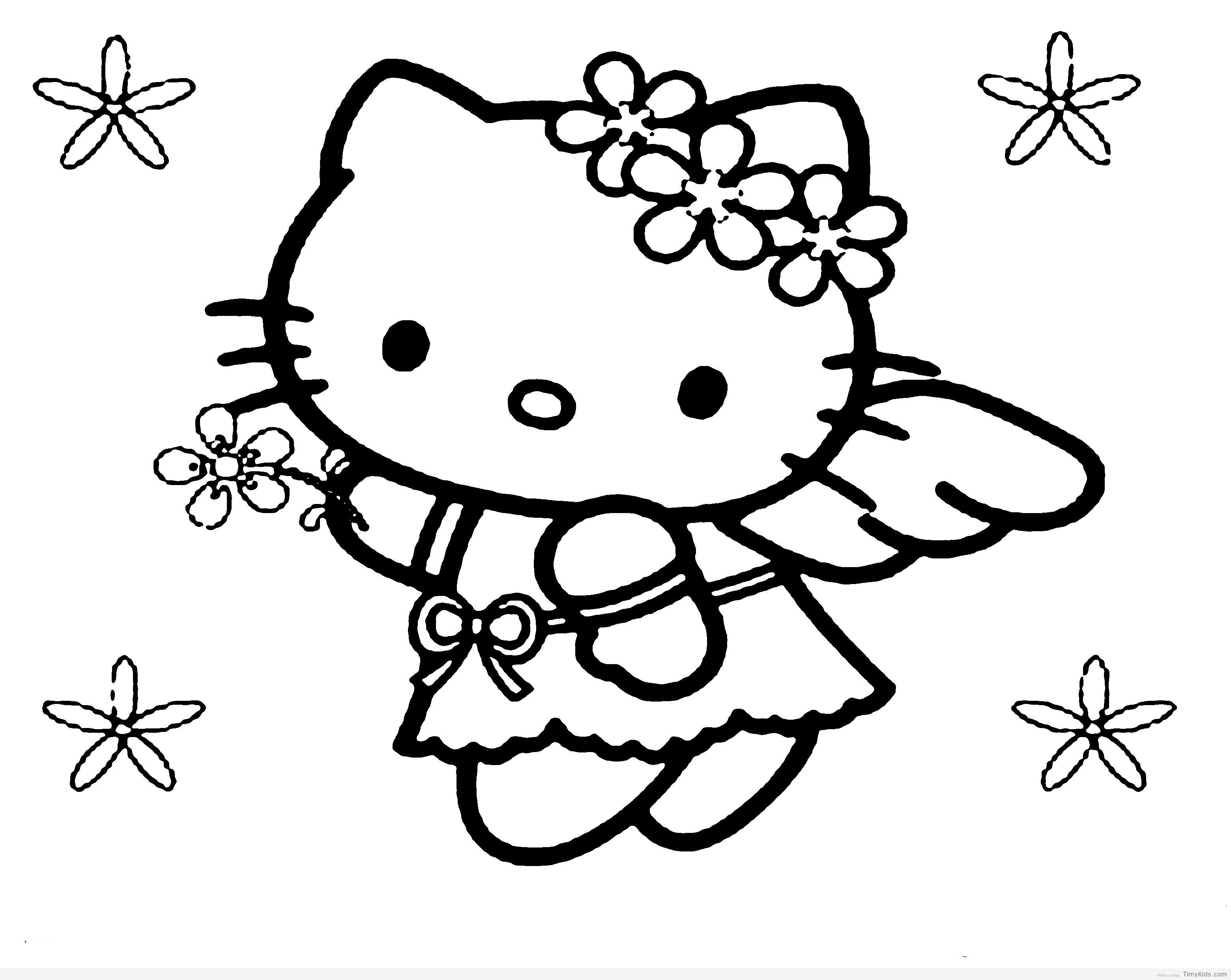 3120x2485 Free Coloring Pages Hello Kitty Download