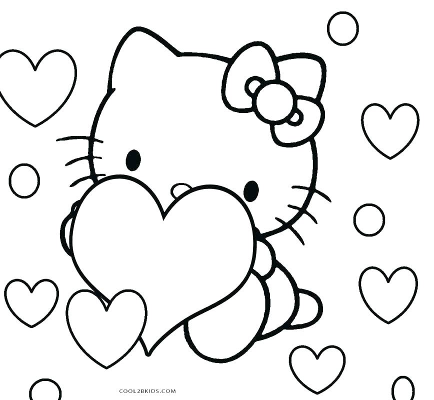 868x800 Kitty Coloring Page Cute Mermaid Coloring Pages Hello Kitty Kitty