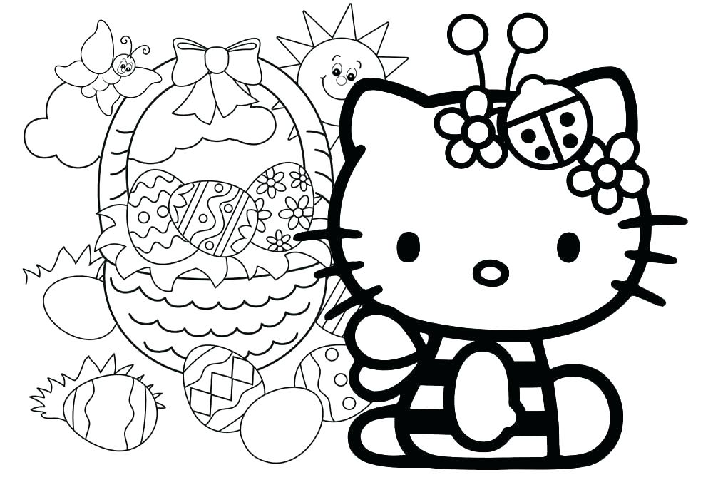 1014x680 Hello Kitty Coloring Pages That You Can Print Hello Kitty Coloring