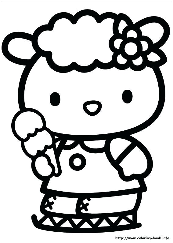 567x794 Hello Kitty Coloring Pages To Print Free Hello Kitty Coloring