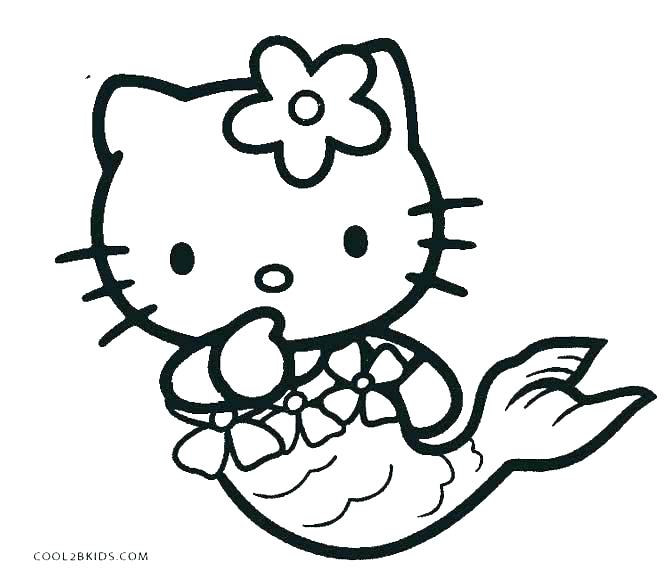 670x576 Hello Kitty Halloween Coloring Pages To Print Printable Colori