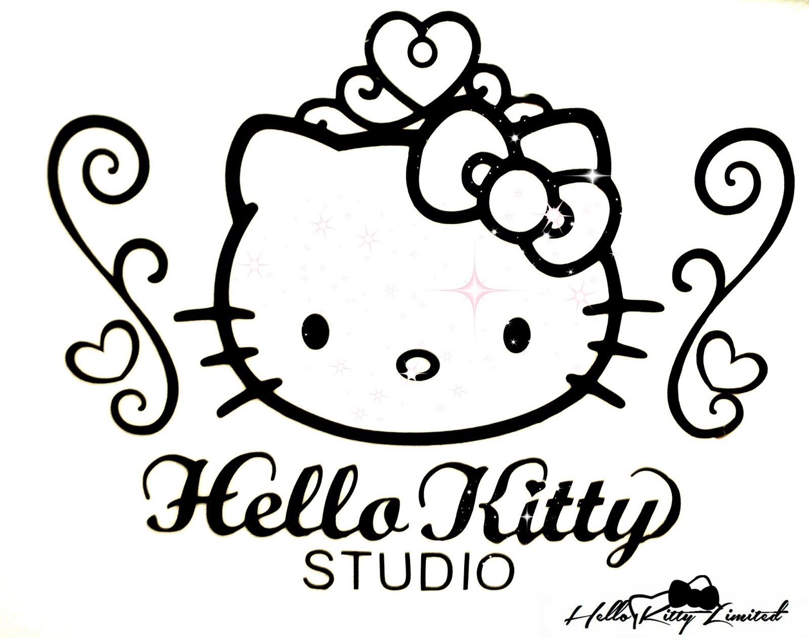 1600x1261 Hello Kitty Nerd Coloring Pages