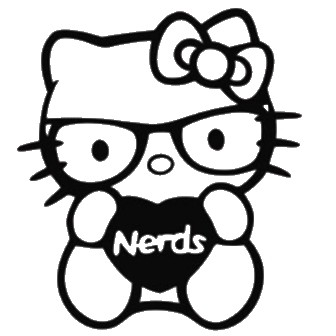 336x336 Best Photos Of Nerdy Hello Kitty Coloring Pages