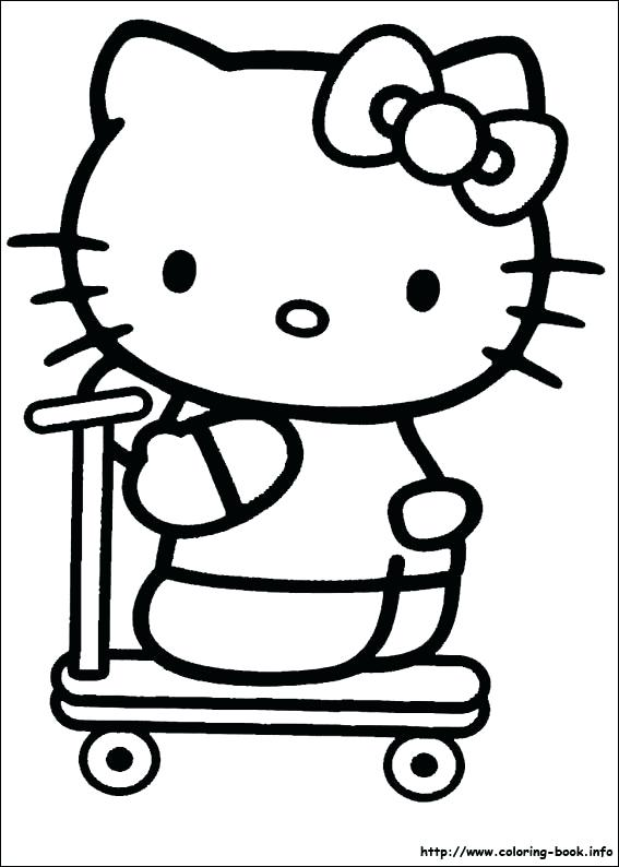 567x794 Hello Kitty Halloween Coloring Pages Hello Kitty Coloring Pages