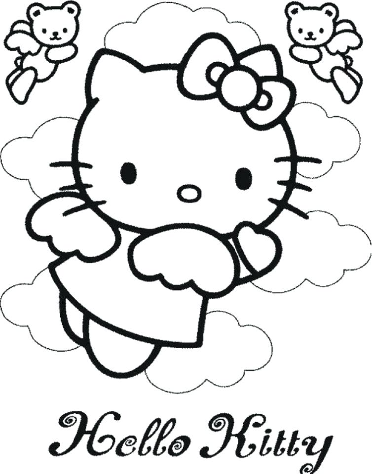 754x960 Bad Kitty Coloring Pages