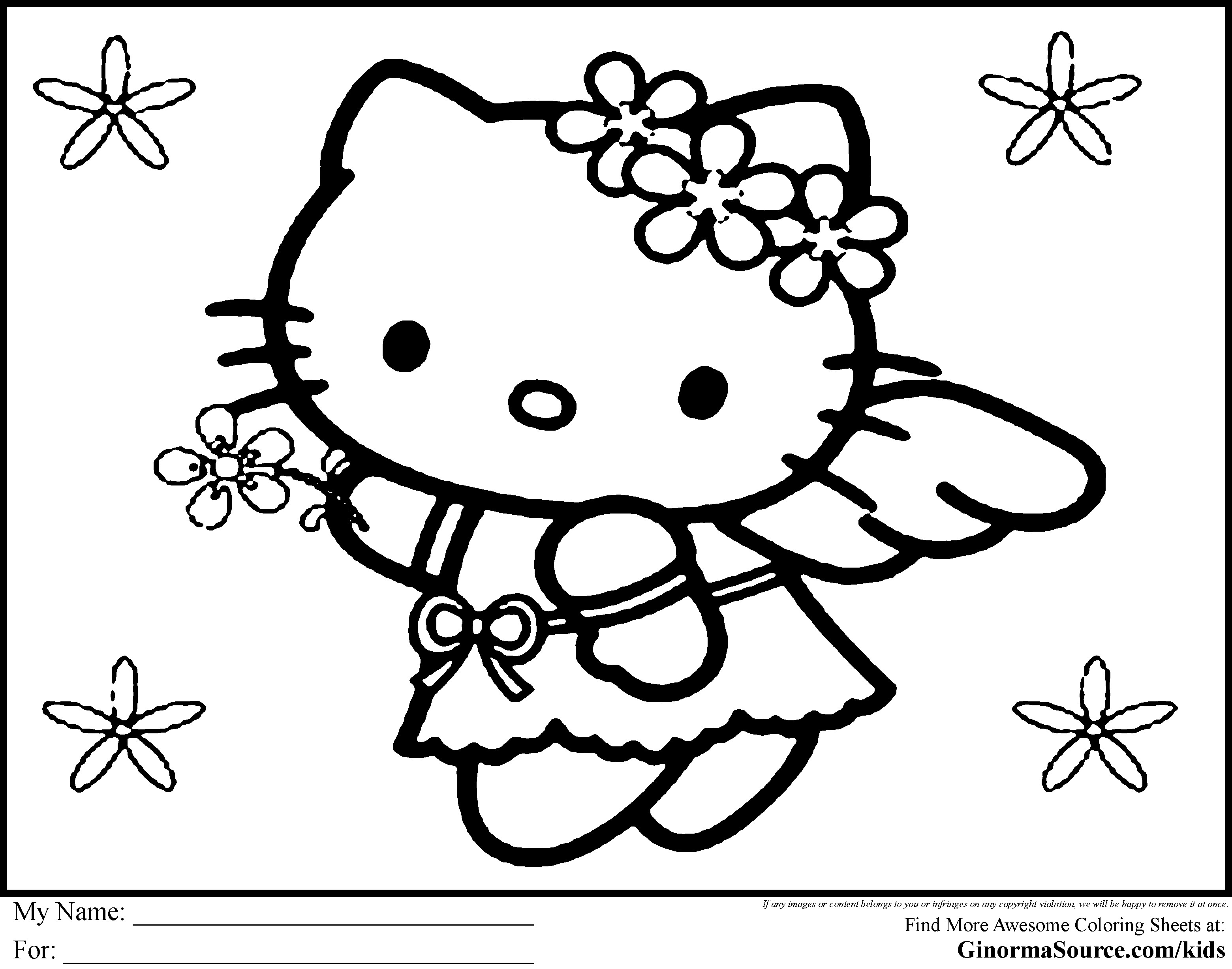 3120x2455 inspiration coloring pages hello kitty summer fresh coloring page