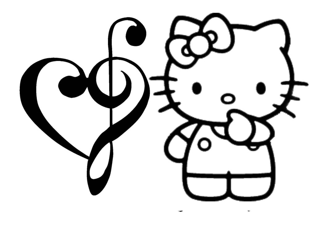1024x802 happy valentine day coloring page hello kitty pages bebo pandco