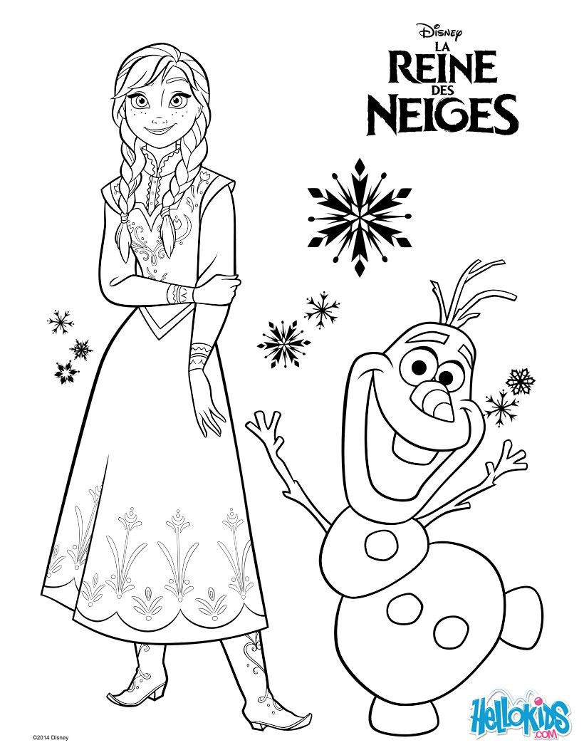 820x1060 Elsa Coloring Pages Hellokids Com Prepossessing And Anna Wagashiya