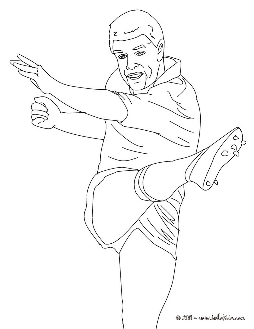 820x1060 Grant Fox Rugby Player Coloring Pages Hellokids Com Inside Racing