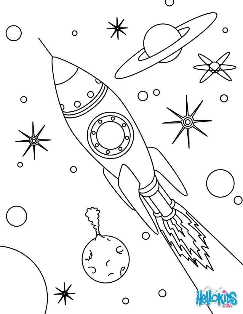 820x1060 Inspirational Design Space Coloring Pages Hellokids Com