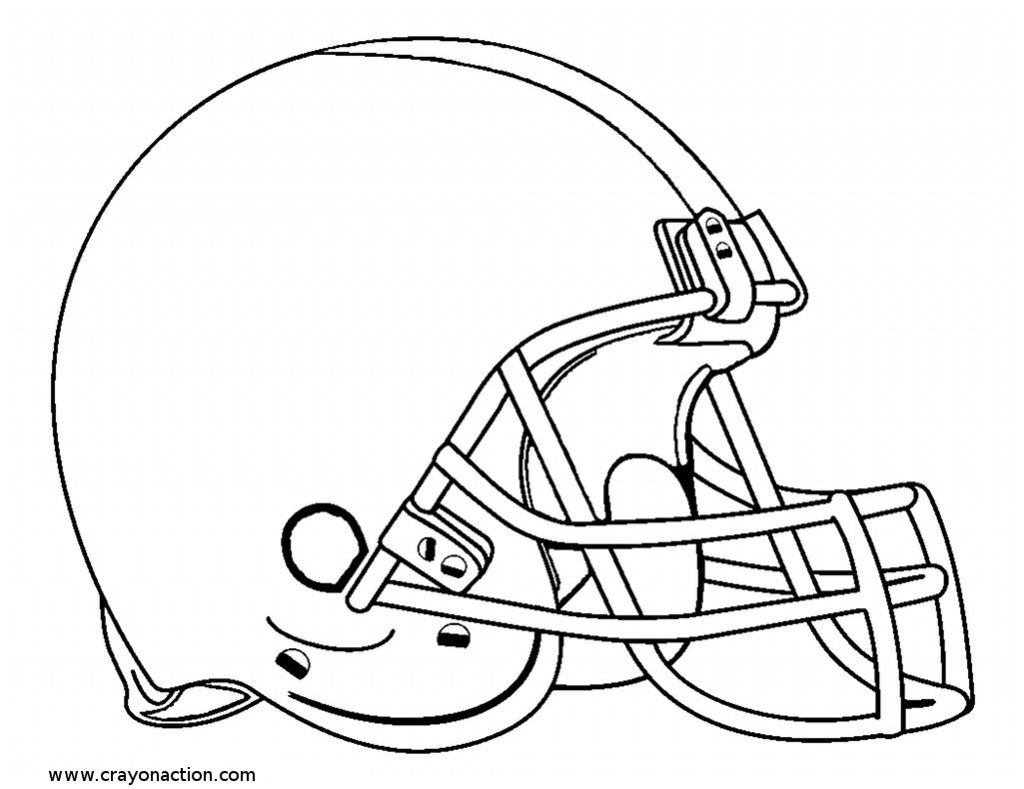 1024x789 Football Helmet Coloring Page