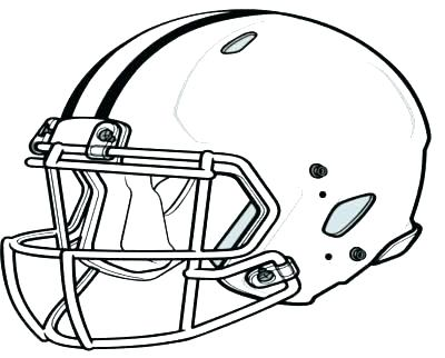 400x322 Redskins Coloring Pages Football Helmet Coloring Page Broncos