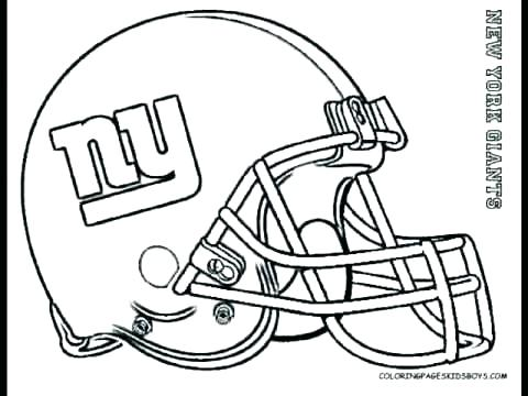 480x360 Astonishing Nfl Helmet Coloring Pages