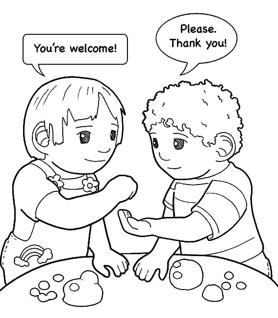 567x648 Helping Hands Coloring Page Helping Others Coloring Pages Family