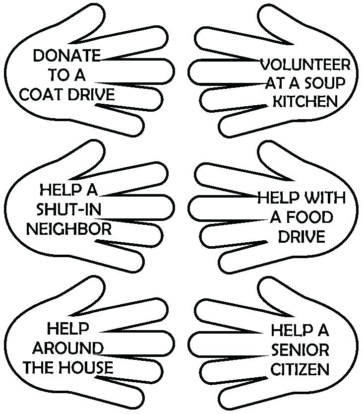 732x834 Helping Hands Coloring Page Helping Others Coloring Pages Family