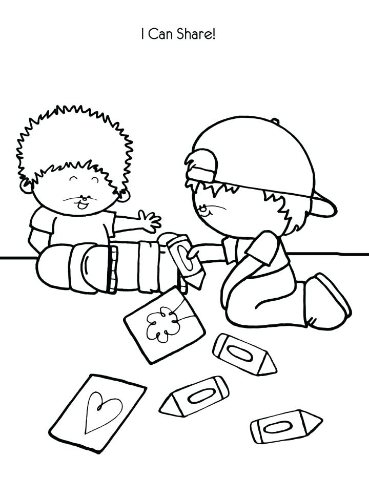 720x931 Helping Others Coloring Pages Helping Others Coloring Pages
