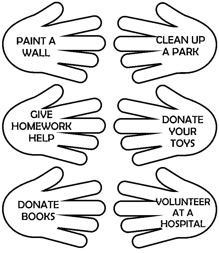 728x842 Free Coloring Pages Of Helping Hands Coloring Gallery