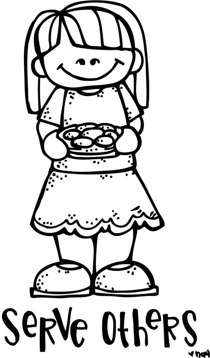 736x1255 Helping Others Coloring Page