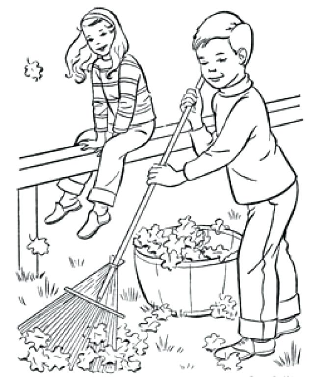640x768 Helping Others Coloring Pages For Preschoolers