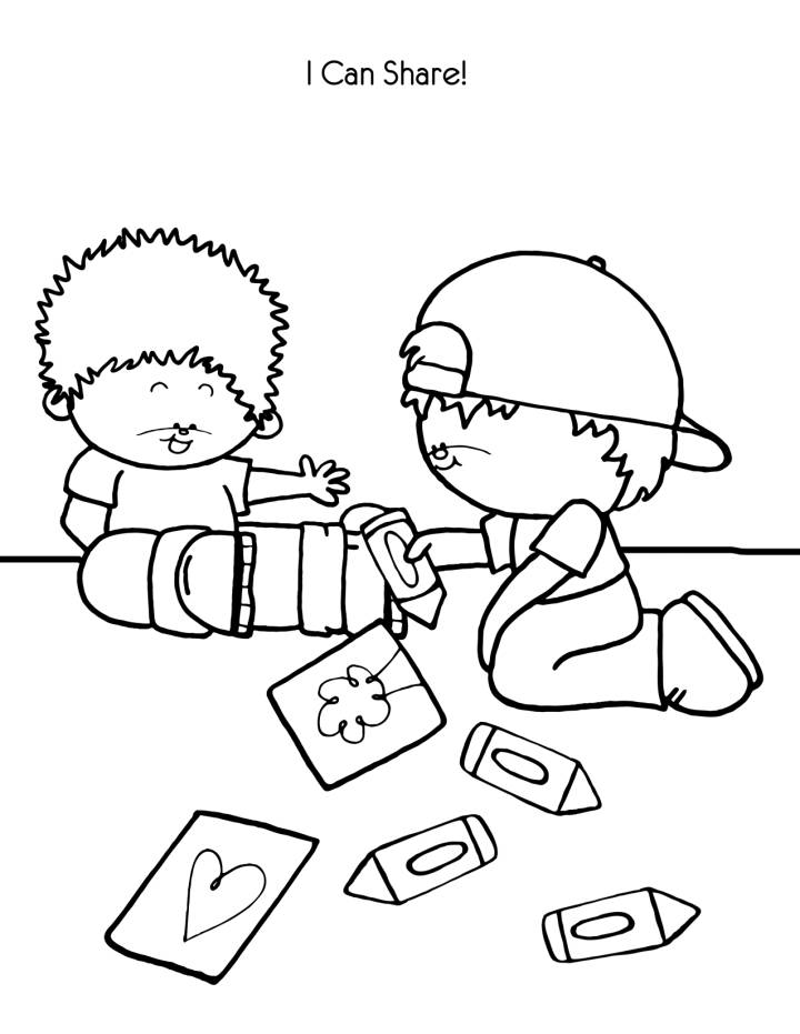 Helping Others Coloring Pages At Getdrawings Com Free For Personal
