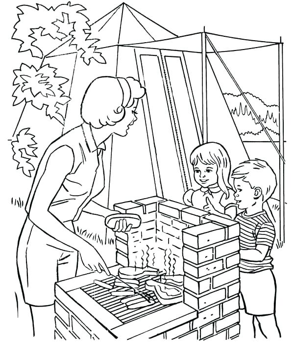 600x734 Helping Hands Coloring Page Helping Others Coloring Pages Family