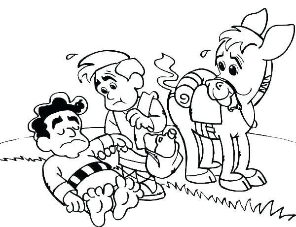 600x461 Coloring Pages Of People Helping Others Coloring Pages Helping
