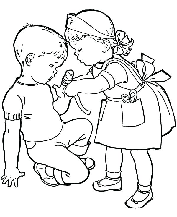 600x734 Good Samaritan Coloring Page Good Coloring Page Awesome Another