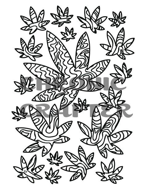 Hemp Coloring Pages