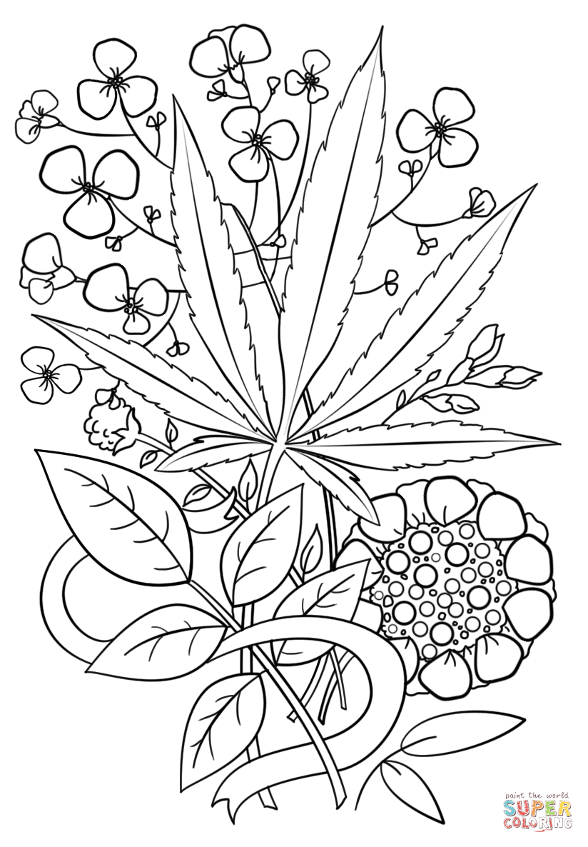 Hemp Coloring Pages At Getdrawings Com Free For Personal Use Hemp