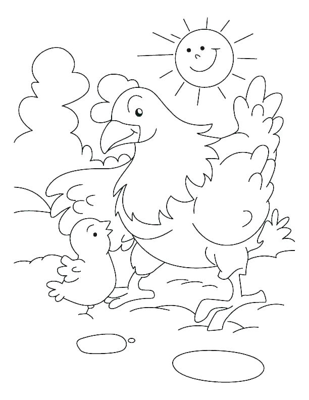 612x792 Baby Chick Coloring Page Baby Chick Coloring Page Baby Chick