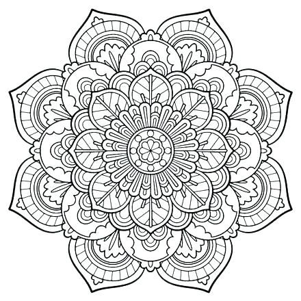 Henna Coloring Pages At Getdrawings Free Download