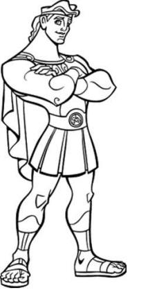 Hercules And Meg Coloring Pages At Getdrawings Com Free For
