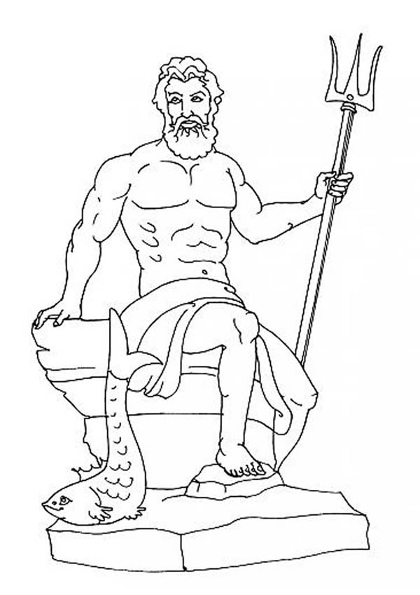 Hermes Coloring Page