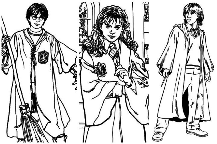 hermione granger coloring pages at getdrawings  free download