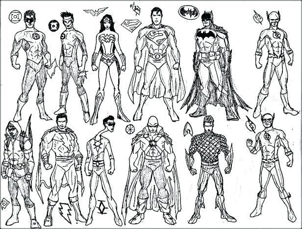 616x467 Marvelous Design Inspiration Superhero Coloring Pages Marvelous