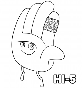 Hi Coloring Pages