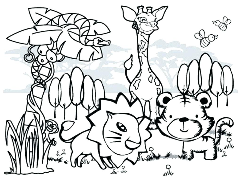 1020x768 Hibernating Animals Coloring Pages Small Printable Pictures