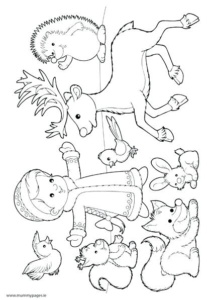 422x597 Hibernation Coloring Pages Hibernation Color Pages