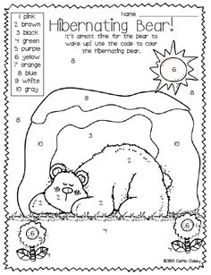 236x307 Itsy Bitsy Learners Animals In Winter Printables! Hibernation