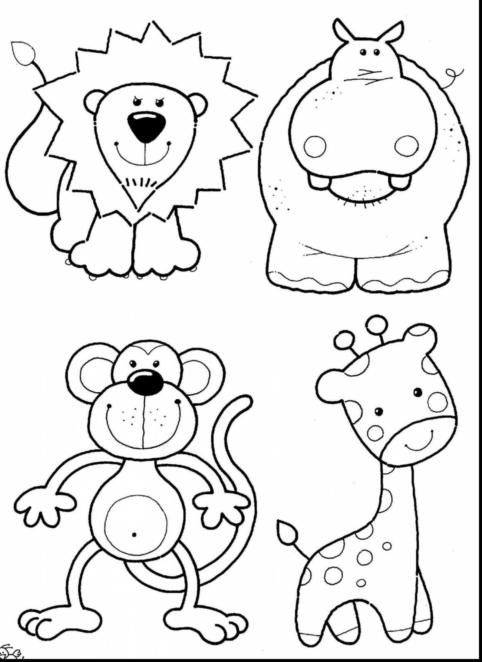1600x2200 Hibernating Animals Coloring Pages